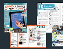 Diseño Editorial Revista de elearning