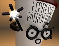 "Harry Potter Expecto ""espresso"" Patronum."