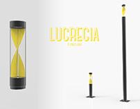 Lucrecia, a street light