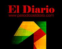 Cartel Periódico El Diario (1er año web)