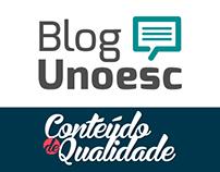 Campanhas Blog Unoesc | Unoesc