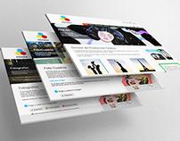 Web design - PRISMA