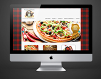 Website Pizzaria Sabor
