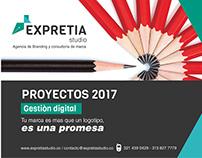 Gestiòn digital 2017 - Expretia studio