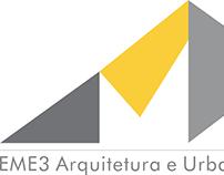 Logotipo Eme3 Arquitetura e Urbanismo