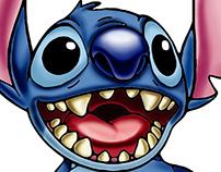 Ilustración Stitch