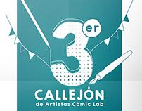 3er Callejón de Artistas Cómic Lab