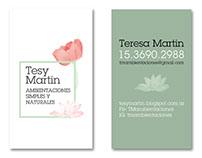 Logo + tarjetas