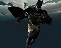 Superheroes 3d