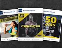 Muscletech Brasil - Social Media