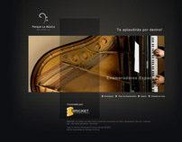 Parque La Música Flash Website