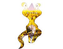 Jiuch Vols Snakish Monster