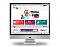 Desenvolvimento Website www.redevitoriosa.com.br
