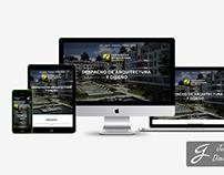 Diseño web Responsive arquitectoweissmann.com