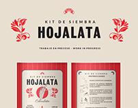 Latas Hojalata Kit de siembra