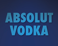 Digital Magazine for Absolut Vodka (Academic Project)