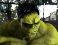 Hulk -  Realtime Character