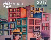 Diseño- Cuaderno cena anual Arca&Arte 2017