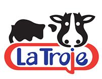 Logotipo, Lácteos la Troje