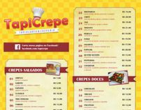 TapiCrepe | Cardápio