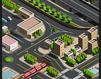 Infografía Mapa de Tránsito
