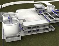 Visualización Planta de Tratamiento de Agua