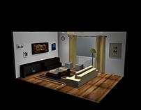 TV room 3D