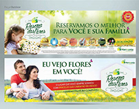 Anúncios Jornal e Outdoors