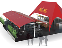 Rendering for restaurant project