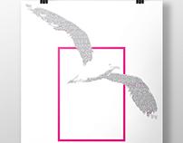 Afiche: Tipografía Deja Vu / Poster: Deja Vu Tipography