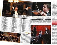 Diseño Editorial de Revista Venezolana sobre Música