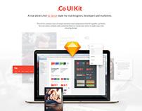 .Co UI Kit for Sketch