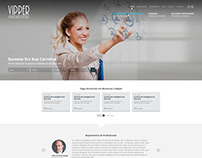 Web Design - Layout Agência de Emprego