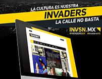 Invaders Mgzn UX/UI