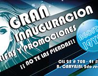 Poster de inauguración