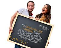 Publicidad Escuela de Comunicación - U. Sergio Arboleda