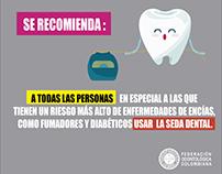 Campaña de conscientización Seda Dental