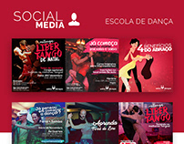 Social Media para Escola de Dança
