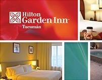 Hilton Garden Inn - Gráfica Promocional e Institucional