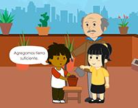 Las plantas | Animación 2D