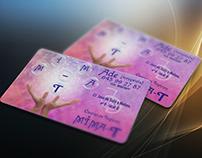 tarjetas de visita para Centro de Terapias