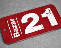 Bazar 21 | Imagen corporativa
