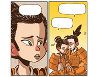 A Samurai [ Comic Pages ]