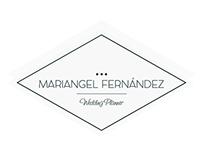 Diseño de logo y papelería para Mariangel Fernández