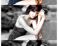 Pintado a color de imagen blanco y negro