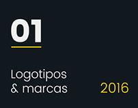 Logotipos & marcas 2016