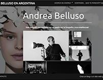 Andrea Belluso en Argentina