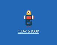 Clear And Loud Logo Animation