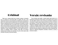 Revisão e Tradução