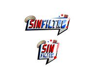 """Oye Canal 7 - Logos temáticos programa """"Sin FIltro"""""""